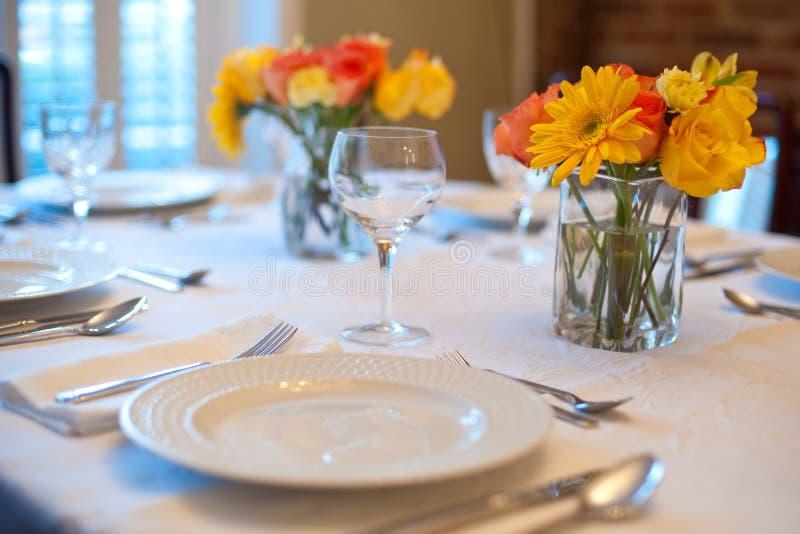 Dinner Table stock photos