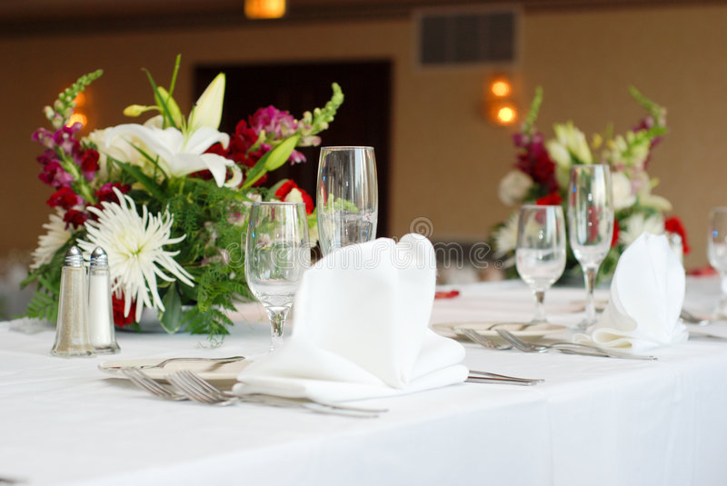 Download Dinner table stock photo. Image of setup, banquet, ceremony - 2979882