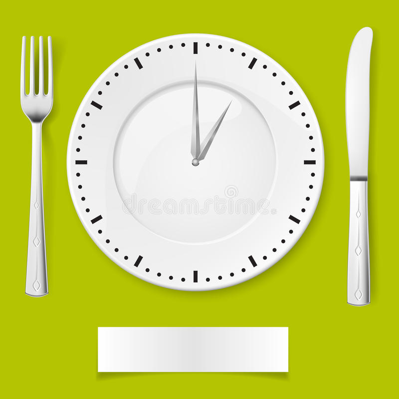Download Dinner time stock vector. Illustration of cuisine, idea - 25729574
