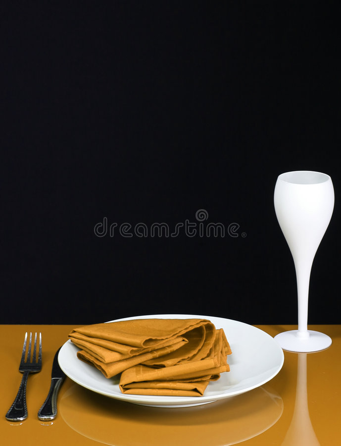 Download Dinner Time stock image. Image of glass, modern, copy - 4016219