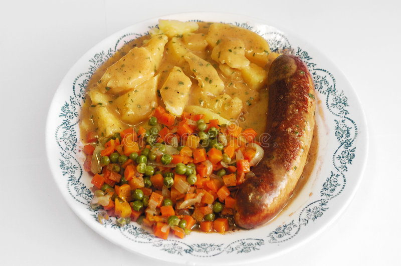 Download Dinner time. stock image. Image of meal, close, baked, carrots - 434335