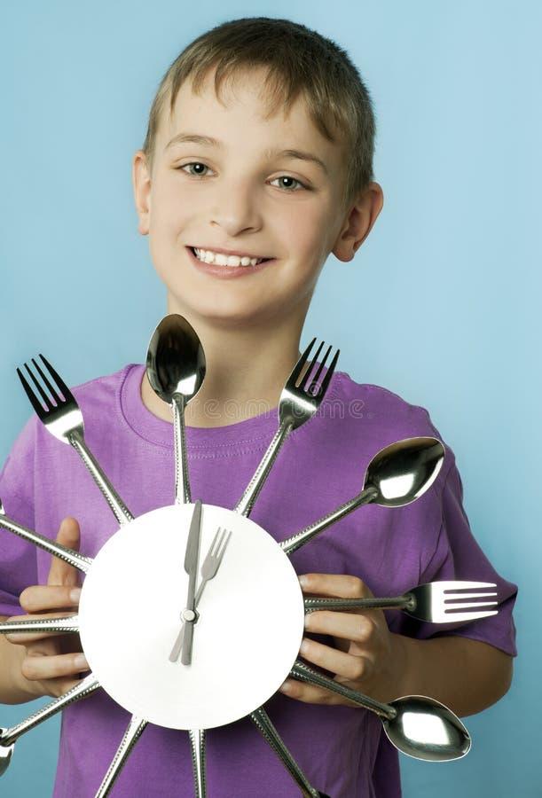 Dinnertime stock photography