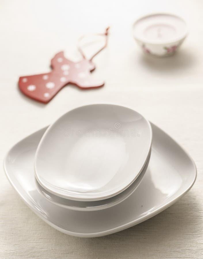 dinnerware royalty-vrije stock afbeelding