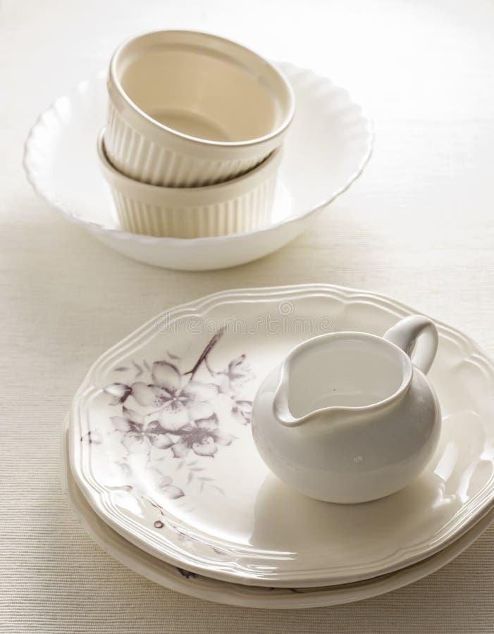 dinnerware royalty-vrije stock foto's