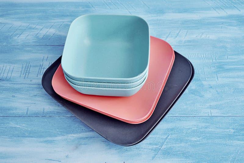 dinnerware fotografie stock