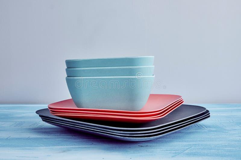 dinnerware royalty-vrije stock foto