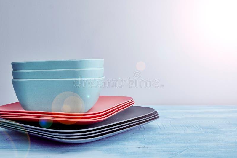 dinnerware stock foto
