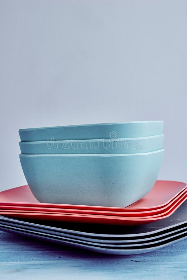 dinnerware royalty-vrije stock afbeeldingen