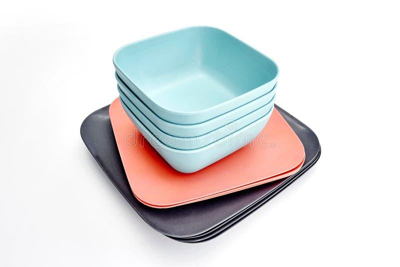 dinnerware fotografia stock