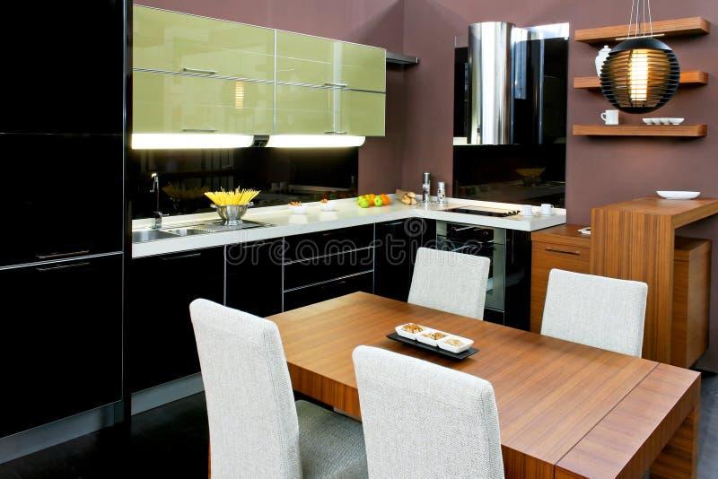 dinning κουζίνα στοκ εικόνες