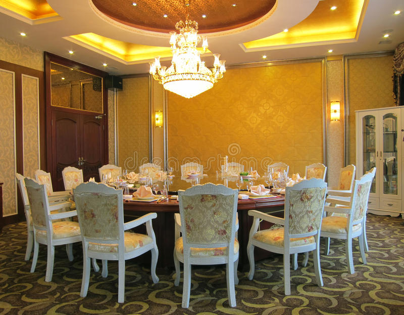 Download Dinning room stock image. Image of dinning, chair, decorative - 20025497