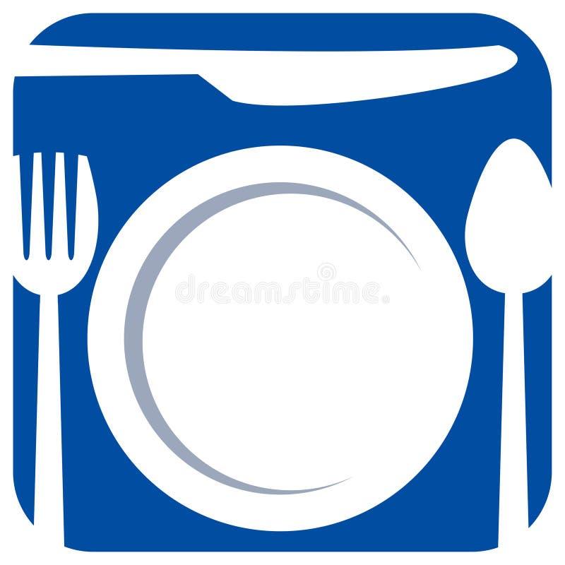 dinning set vektor illustrationer