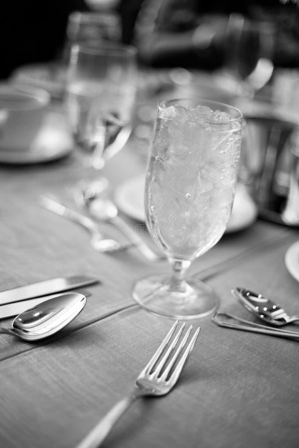 dinning set tabell för lokal royaltyfri bild