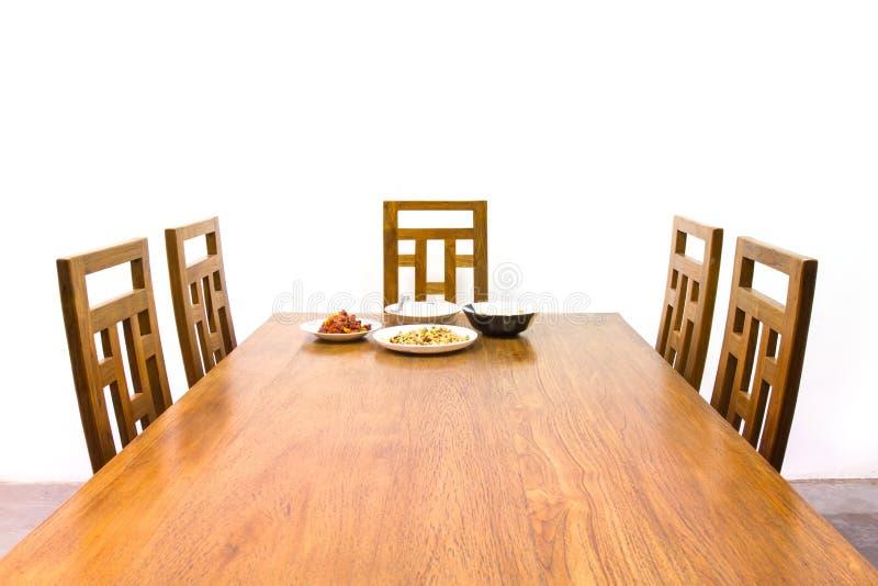 Dinning tabell royaltyfri fotografi