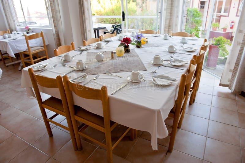 Dinningsruimte stock foto
