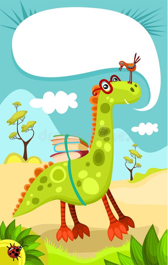 Dino royalty illustrazione gratis