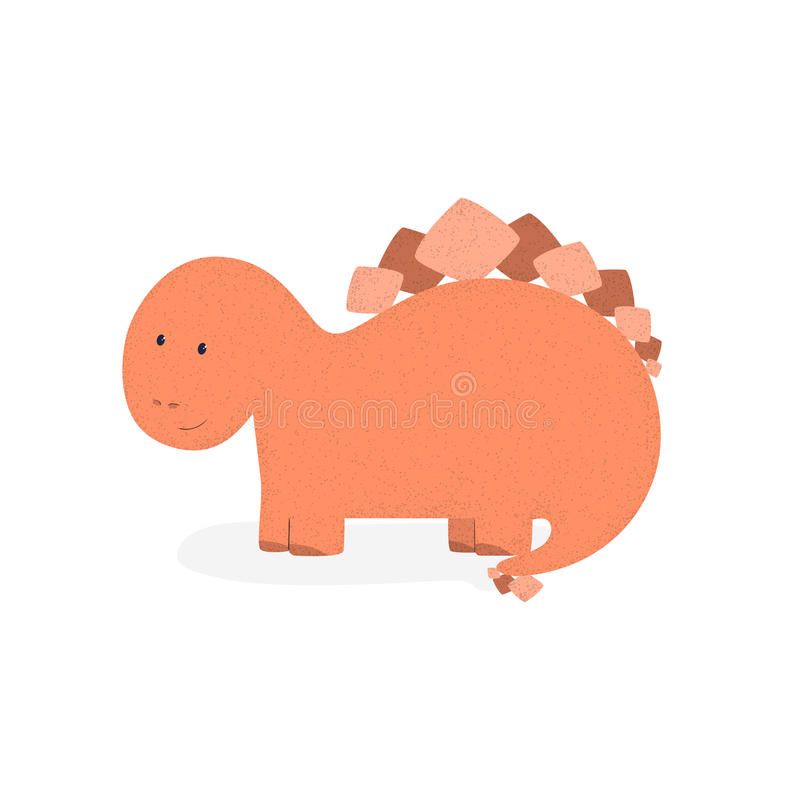 Dino 5 ilustración del vector
