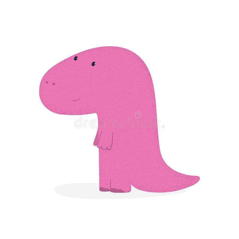 Dino 3 stock illustrationer