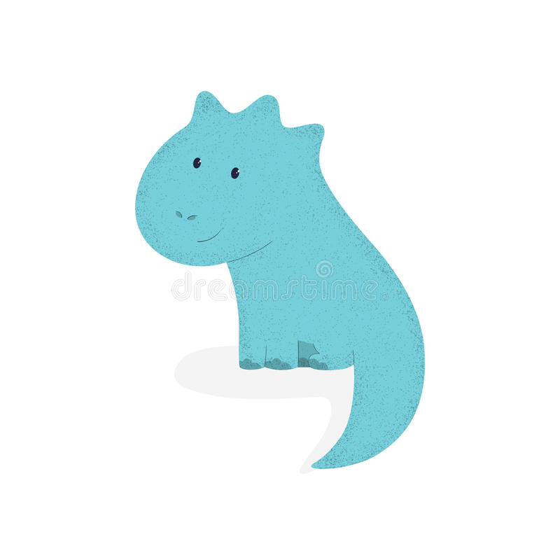 Dino 1 stock illustrationer