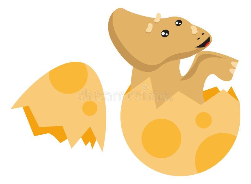 Download Dino Born vector illustratie. Illustratie bestaande uit ontwerp - 54081942
