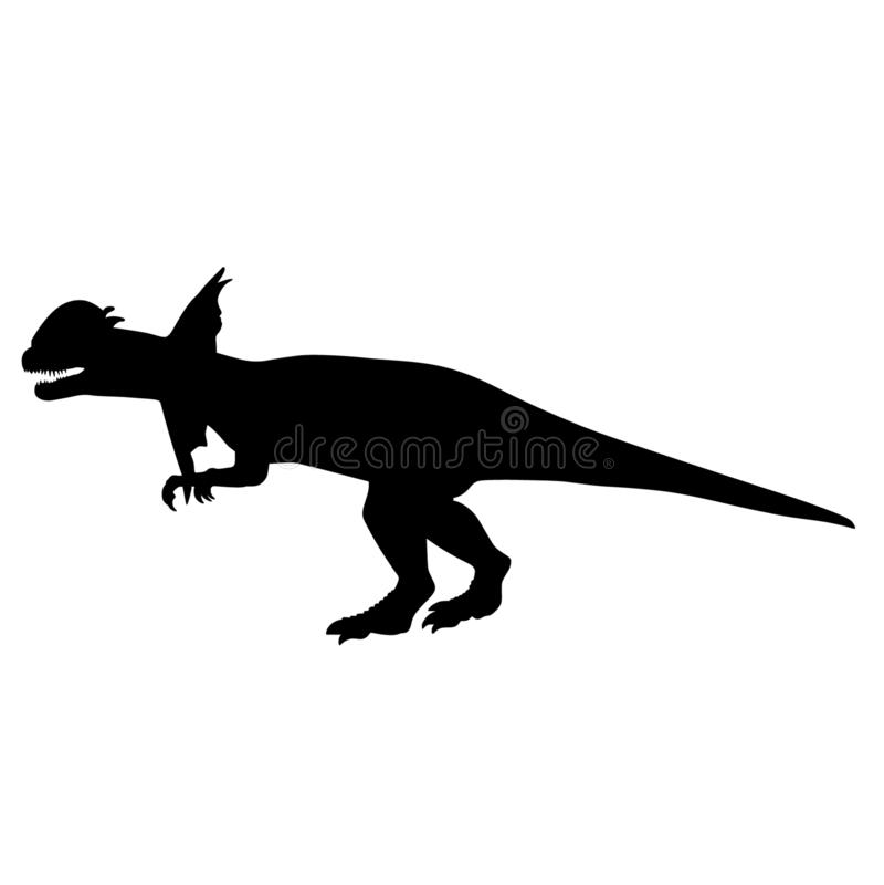 Dino dinosaura wektoru eps r?ka rysuj?ca, wektor, Eps, logo, ikona, crafteroks, sylwetki ilustracja dla r??nego u?ywa ilustracji