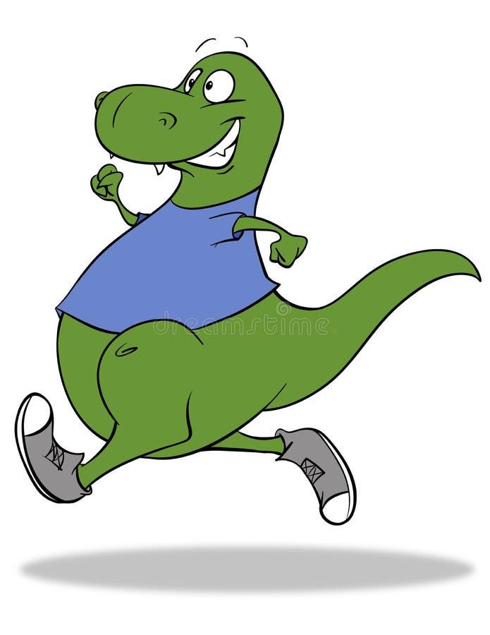 Dino Junakowanie royalty ilustracja