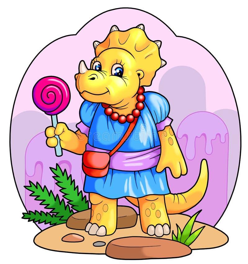 Dino Kids stock de ilustración