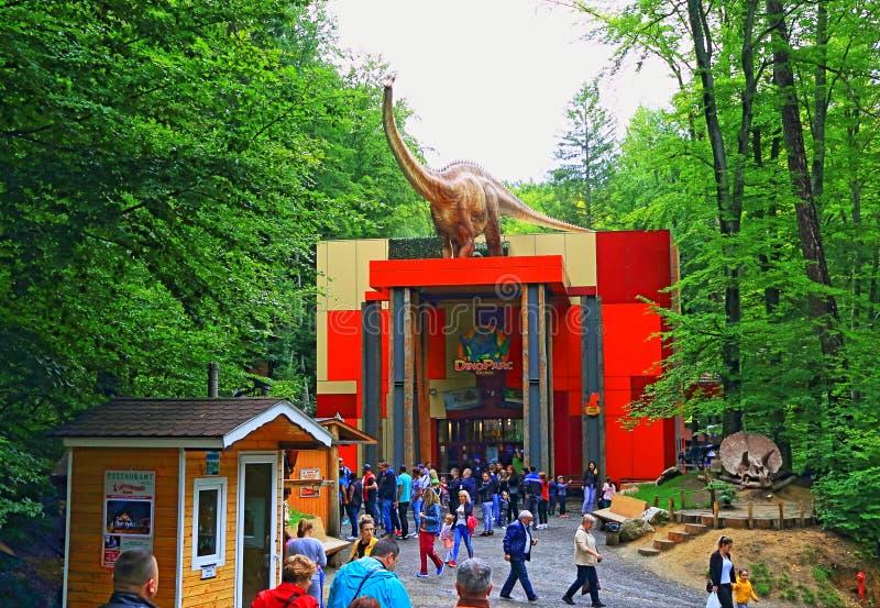 Dino Parc Rasnov Romania lizenzfreie stockbilder