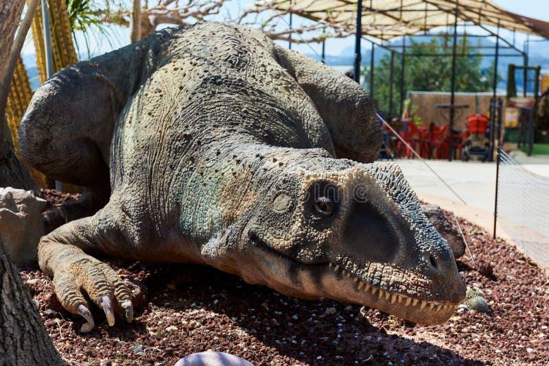 Dino Park d'Algar l'espagne photos stock