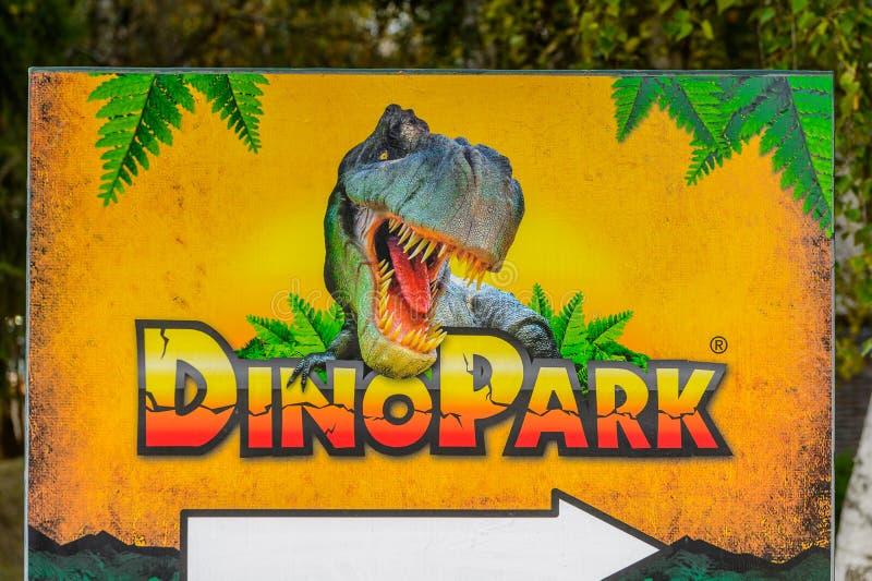 Dino Park, Slowakije royalty-vrije stock fotografie