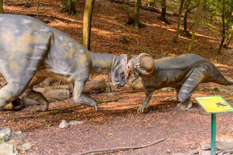 Dino Park, Slowakije stock fotografie