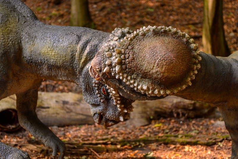 Dino Park, Slowakije stock afbeelding