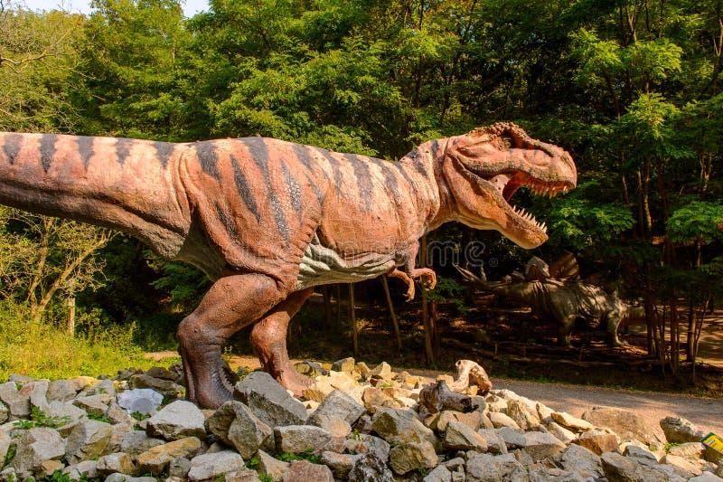 Dino Park, Slowakije royalty-vrije stock foto's