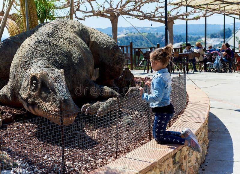 Dino Park van Algar royalty-vrije stock foto's