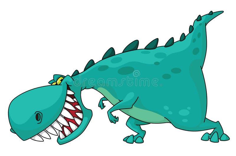 Dino rex royalty-vrije illustratie