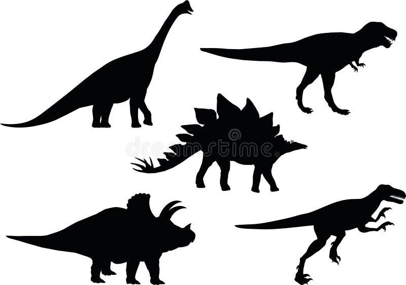 Dino Selection illustration stock