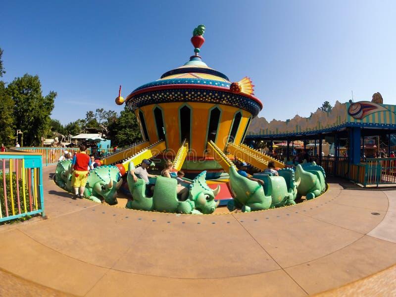 Dinoland przy Zwierzęcym królestwem, Orlando Floryda zdjęcia royalty free