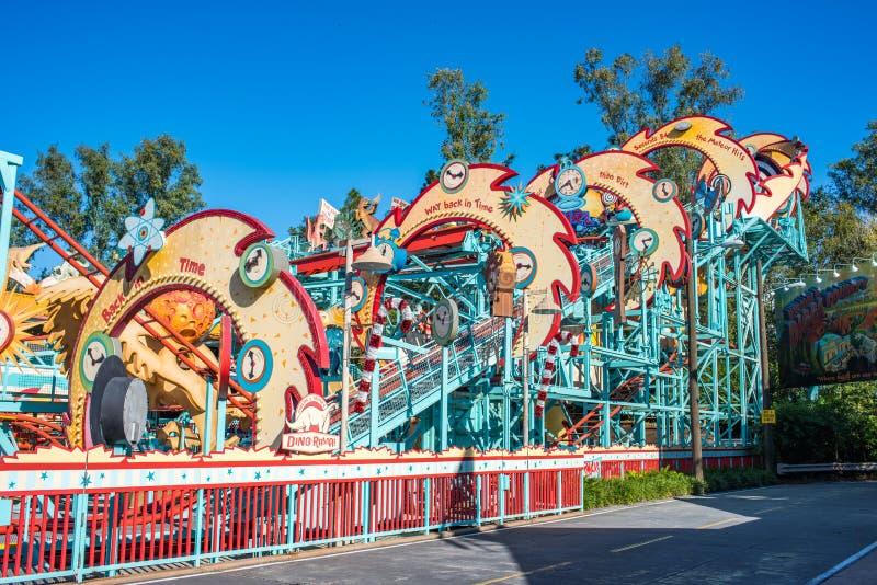 DinoLand U S A på djurriketen på Walt Disney World royaltyfri bild