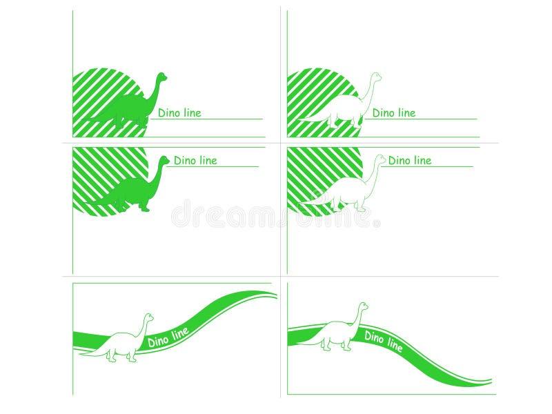 Dinoline Royalty Free Stock Images