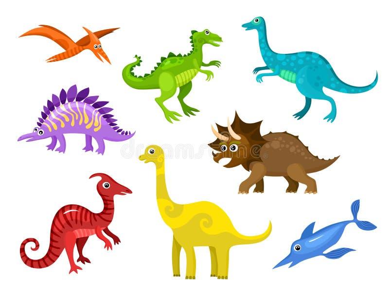 Dinos stock illustration