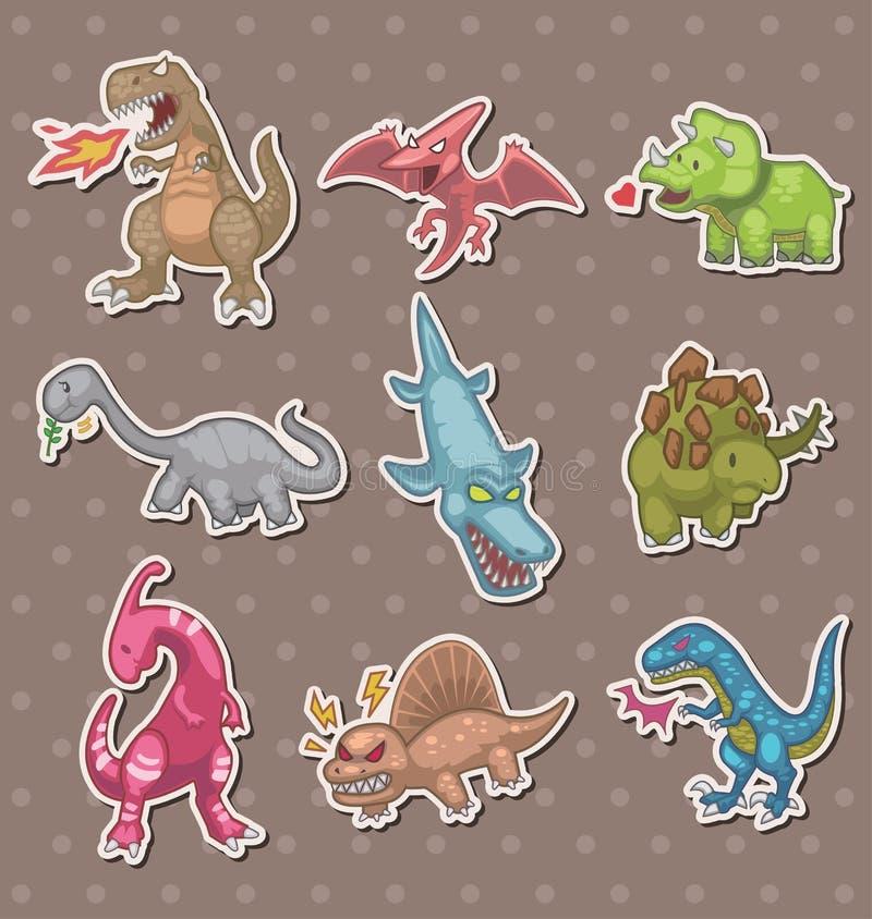 dinosaurów majchery ilustracji