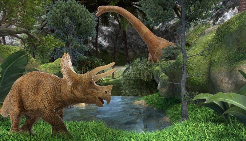 dinosaur royalty illustrazione gratis