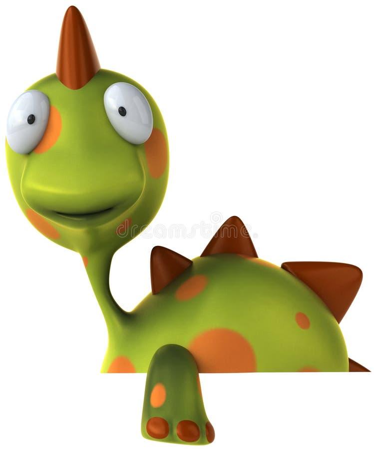 dinosaur vektor illustrationer