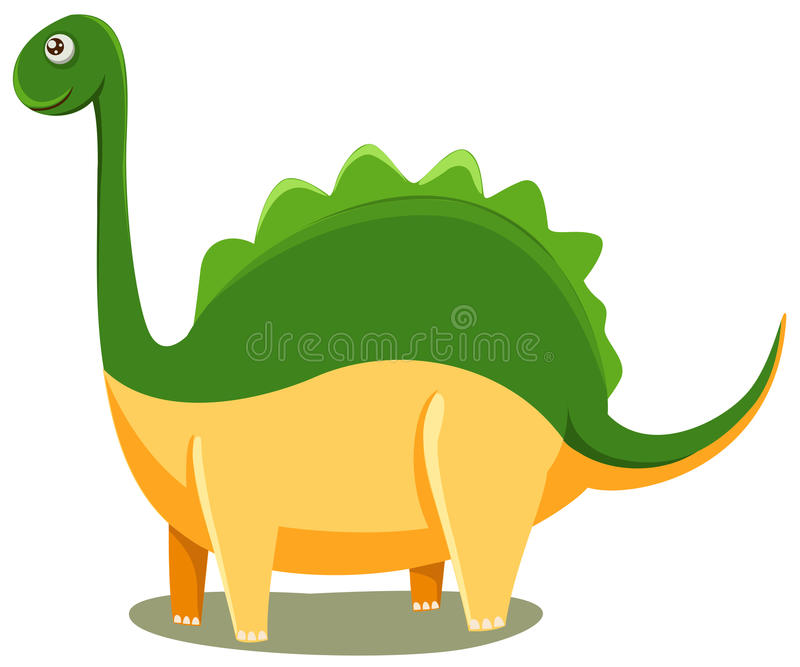 Dinosaur. Illustration of isolated t-rex dinosaur on white background vector illustration