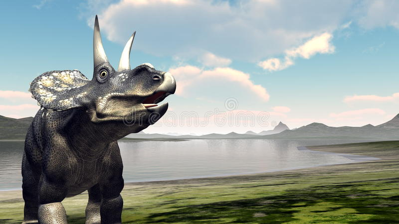 dinosaur stock illustrationer