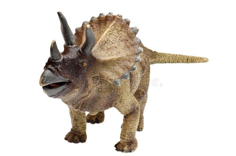 Dinosaur. Toy on white background stock photo