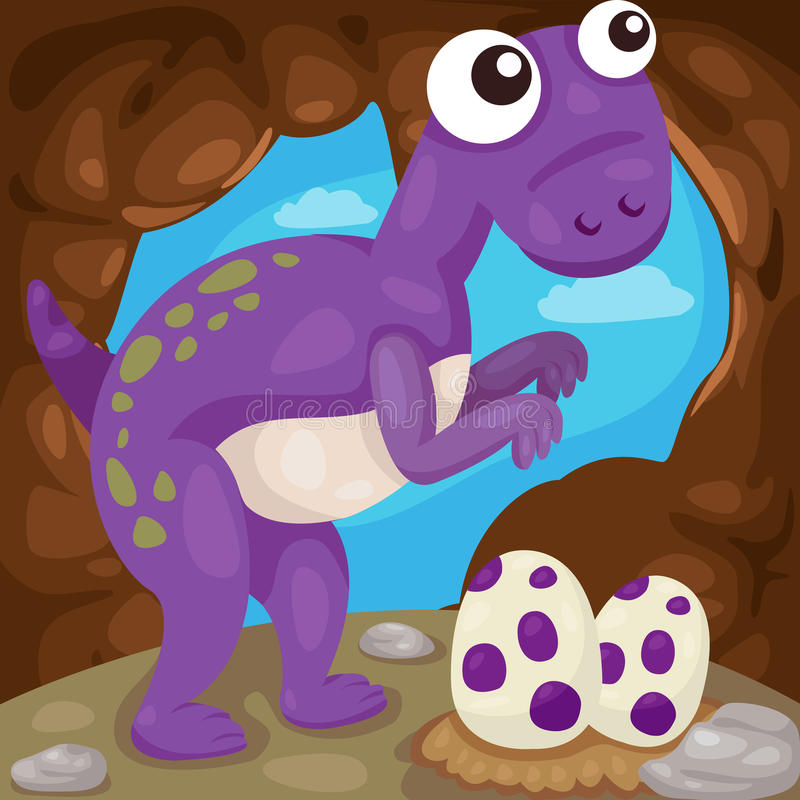Dinosaur ilustracji