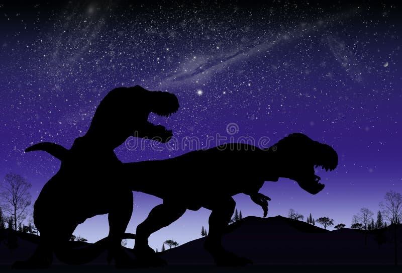 dinosaur illustrazione di stock