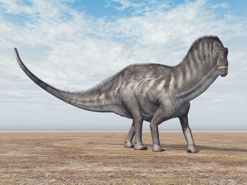 Dinosaur Amargasaurus ilustracji