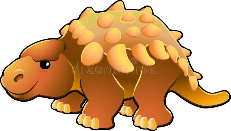 Dinosaur amical mignon illustration stock